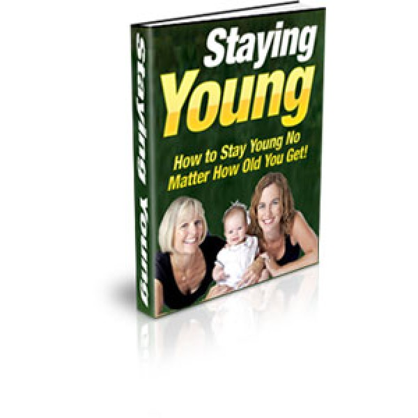 STAYING YOUNG E-BOOK